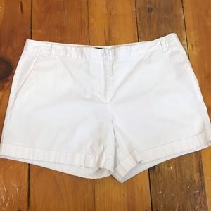 3/$27 Attention White Cotton Shorts